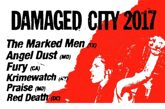 DAMAGED CITY promo