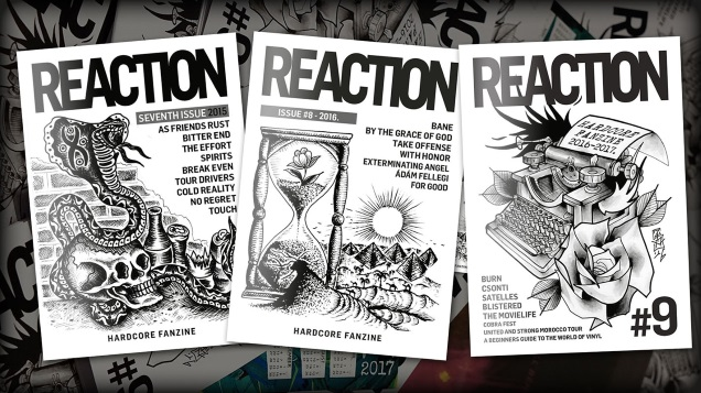 REACTION fanzine 10