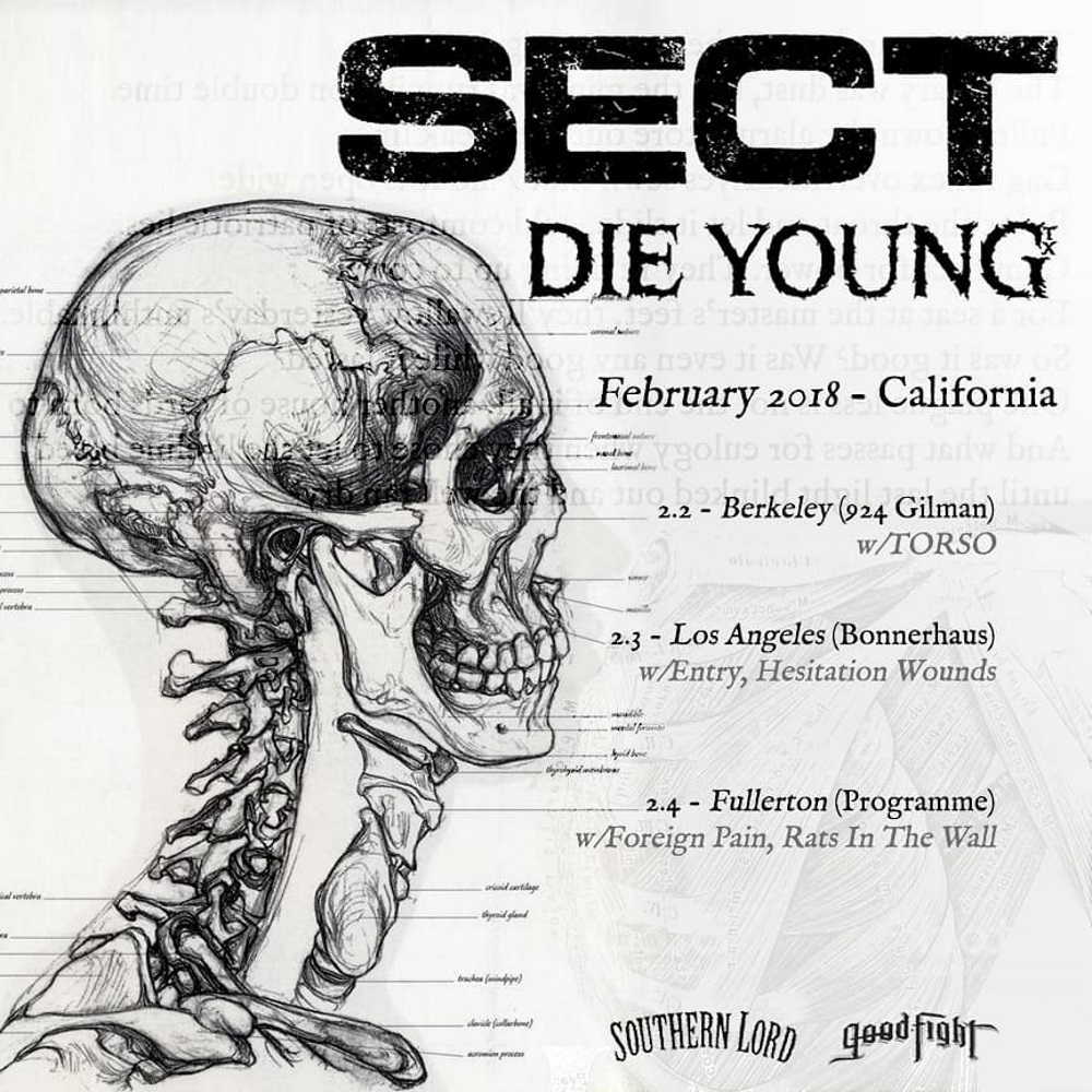SECT and DIE YOUNG dates
