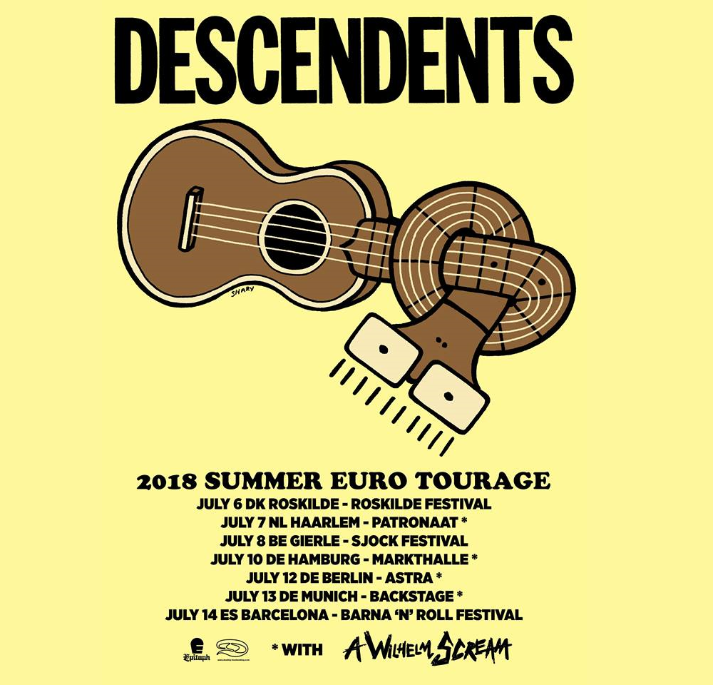DESCENDENTS live shows in Europe