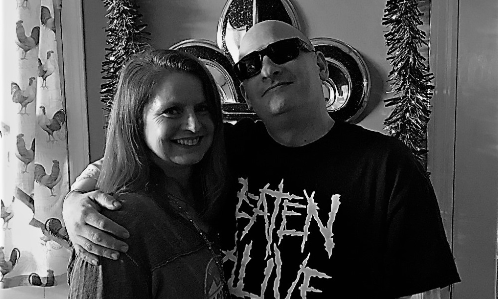 Amy and Steve Black and White Kitchen