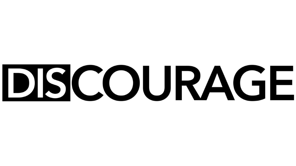 DISCOURAGE logo