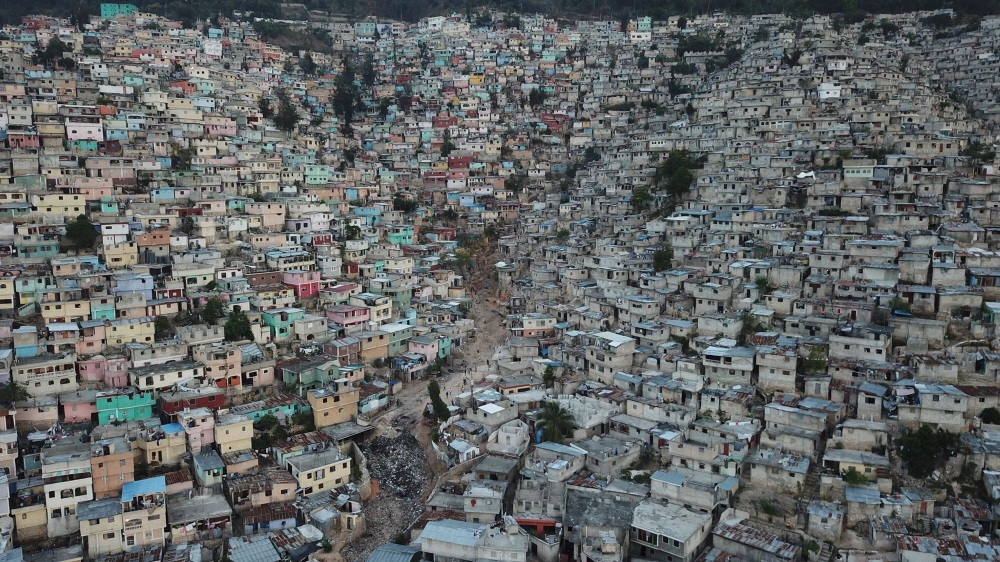 Port au Prince, Haiti, by Greg Bennick