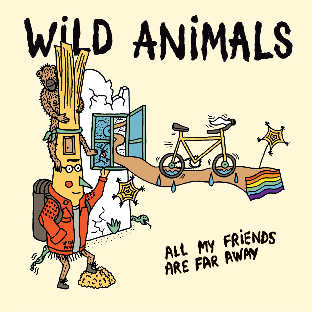 WILD ANIMALS single cover - All My Friends