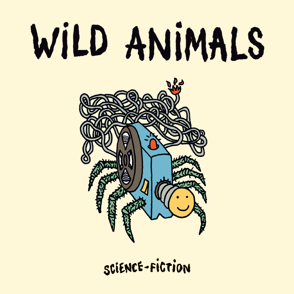 WILD ANIMALS single cover - Science-Fiction