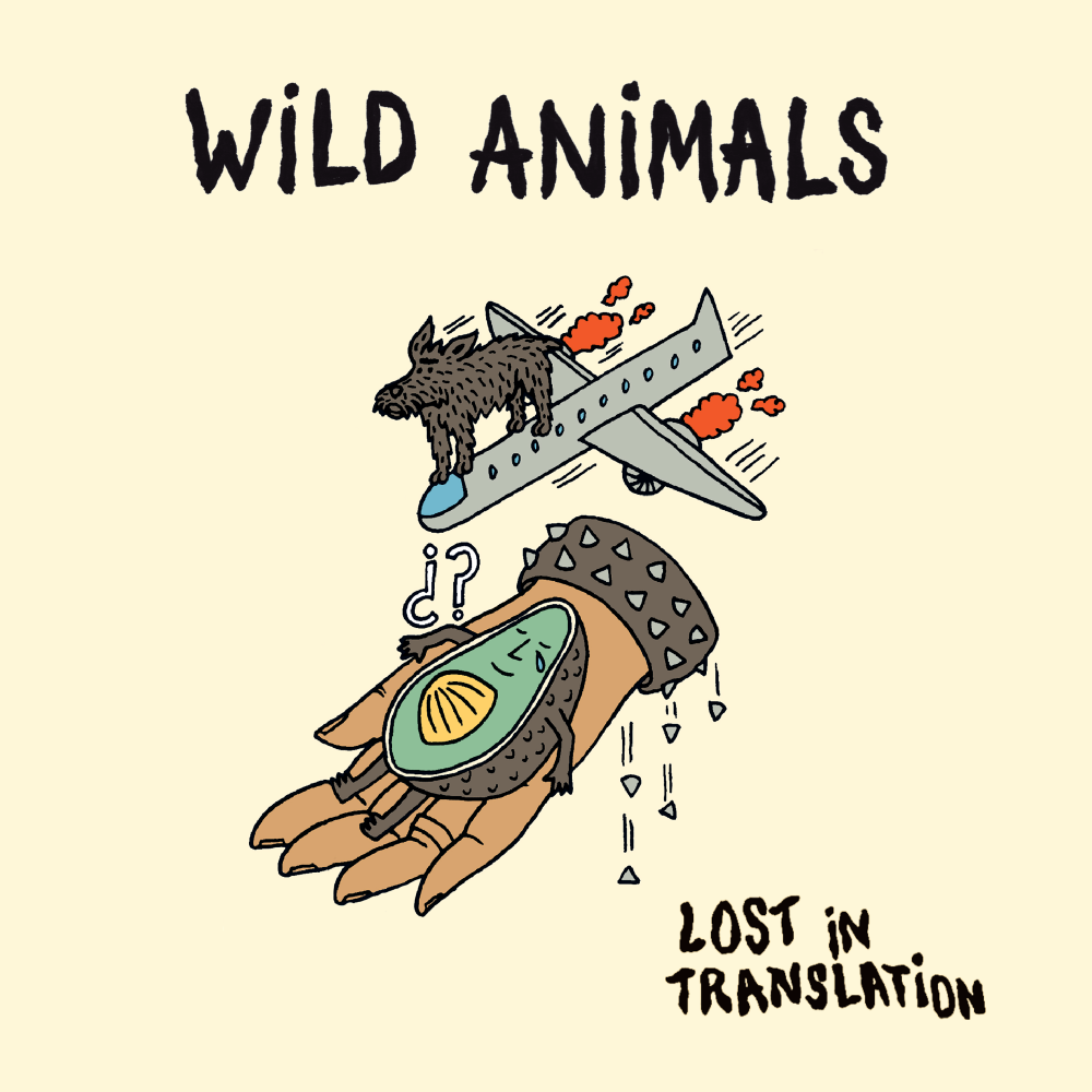 WILD ANIMALS single cover - lost in translation