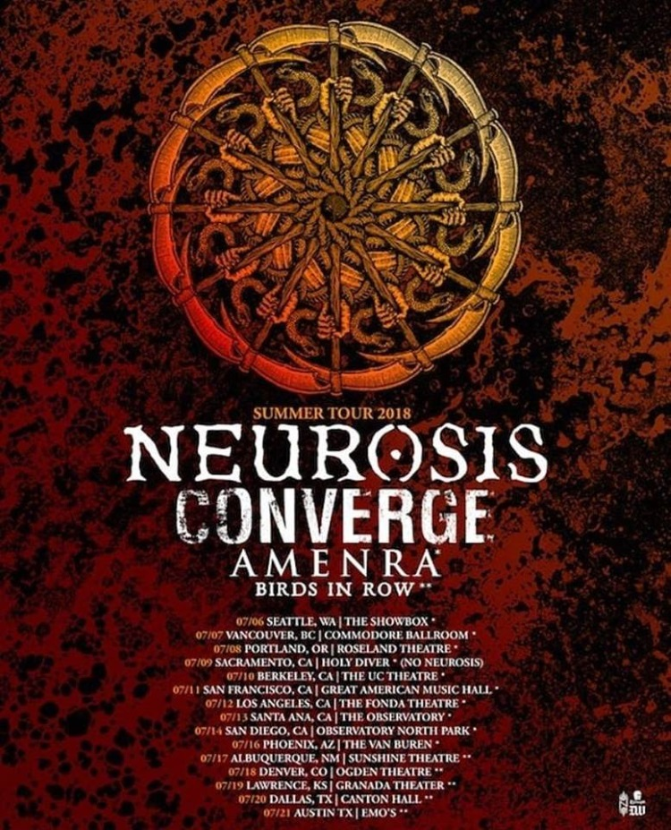 BIRDS IN ROW with NEUROSIS