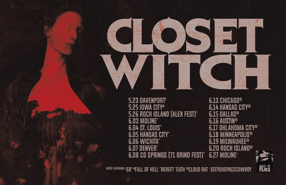 CLOSET WITCH tour dates