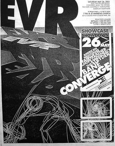CONVERGE show with BANE