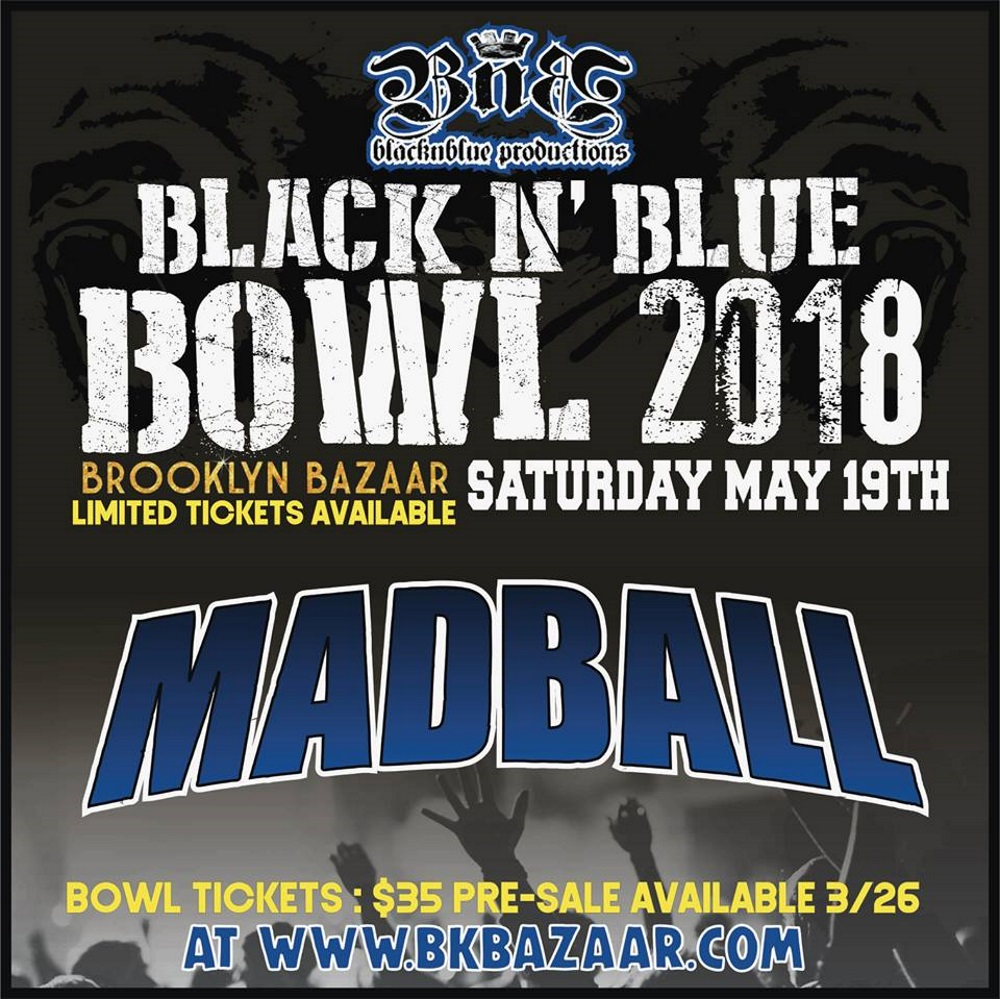MADBALL BlacknBlue