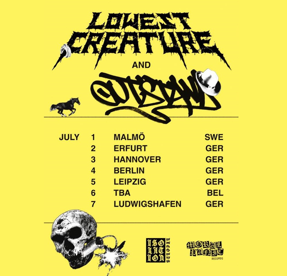 LOWEST CREATURE tour