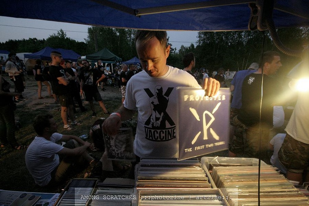 Refuse Records distro by Among Scratches