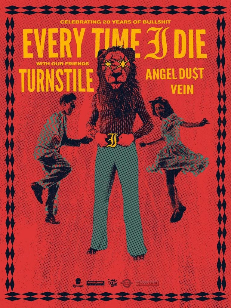 EVERY TIME I DIE and TURNSTILE tour dates