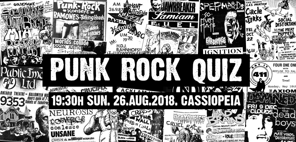 Punk Rock Quiz