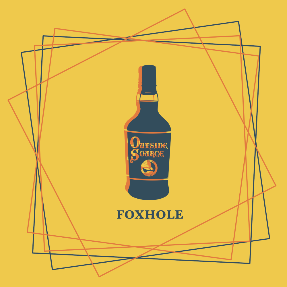 FOXHOLE cover art by Jacob Weston