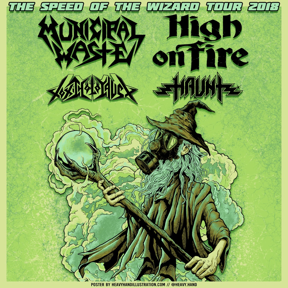 MUNICIPAL WASTE tour