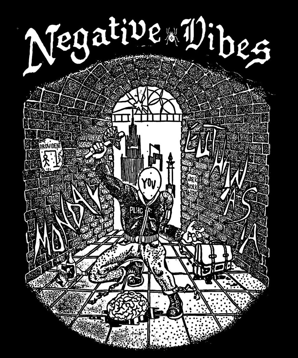 NEGATIVE VIBES art