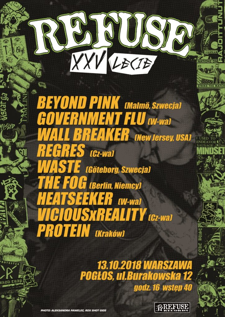 Refuse Records poster