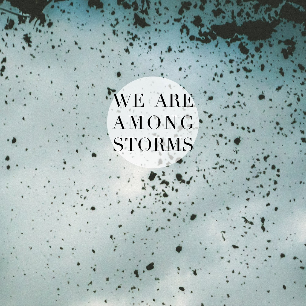 WE ARE AMONG STORMS cover