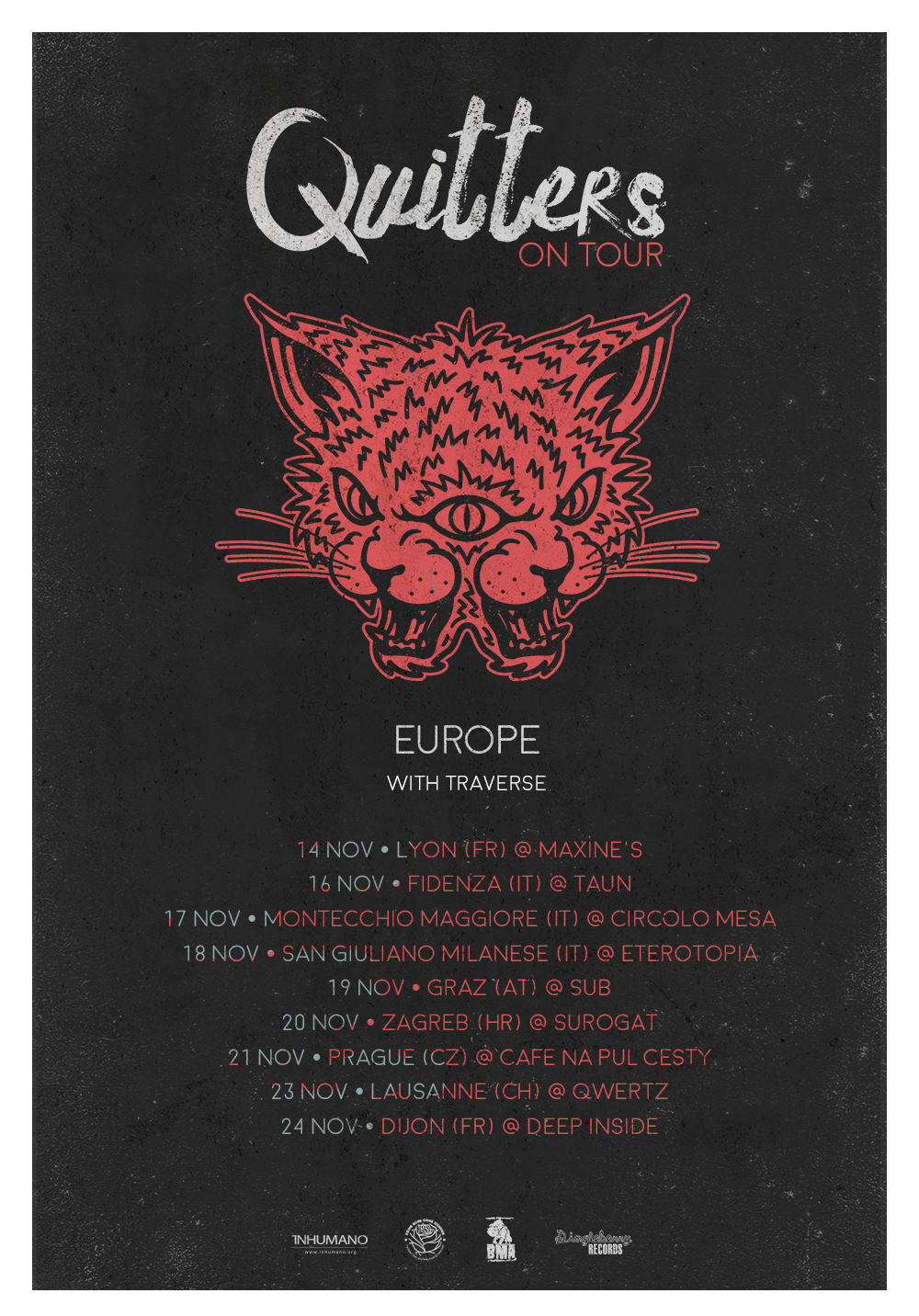QUITTERS tour
