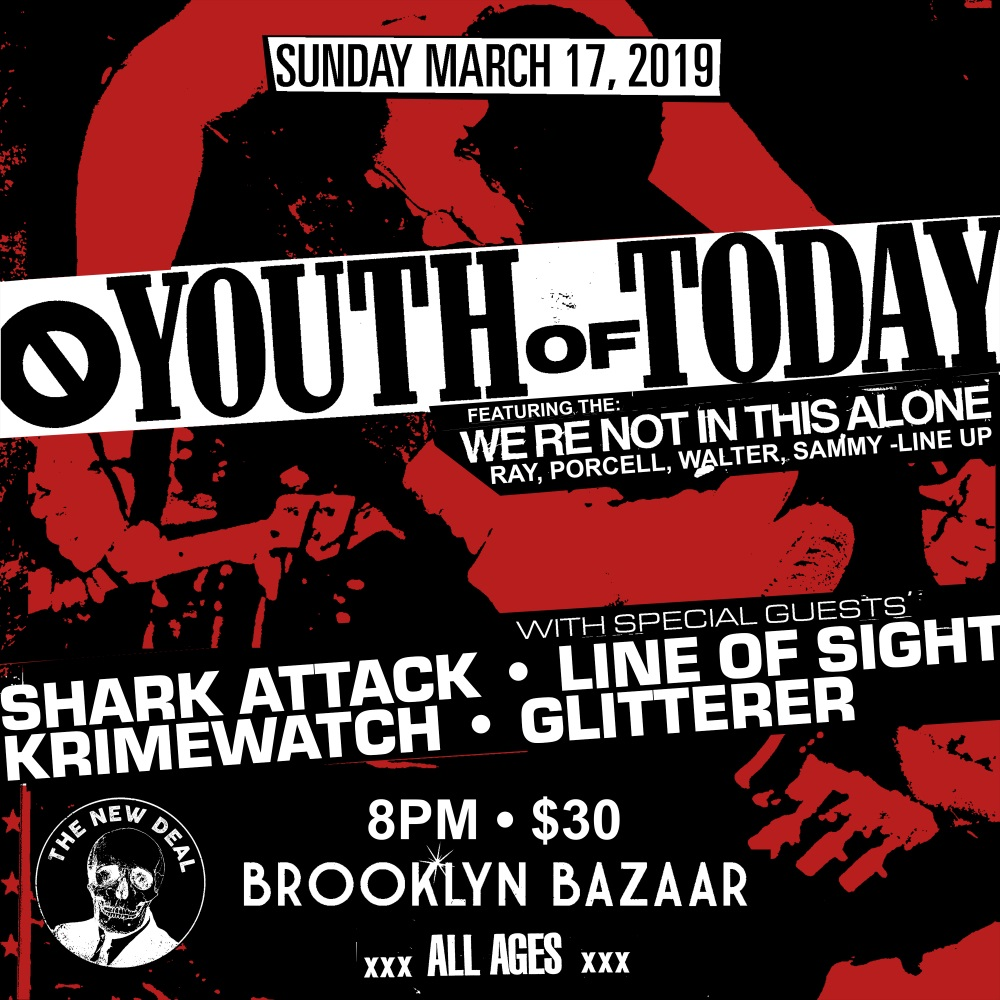 YOUTH OF TODAY NYC show