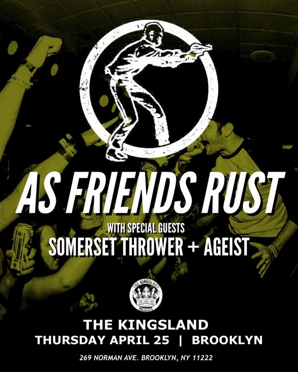 AS FRIENDS RUST show