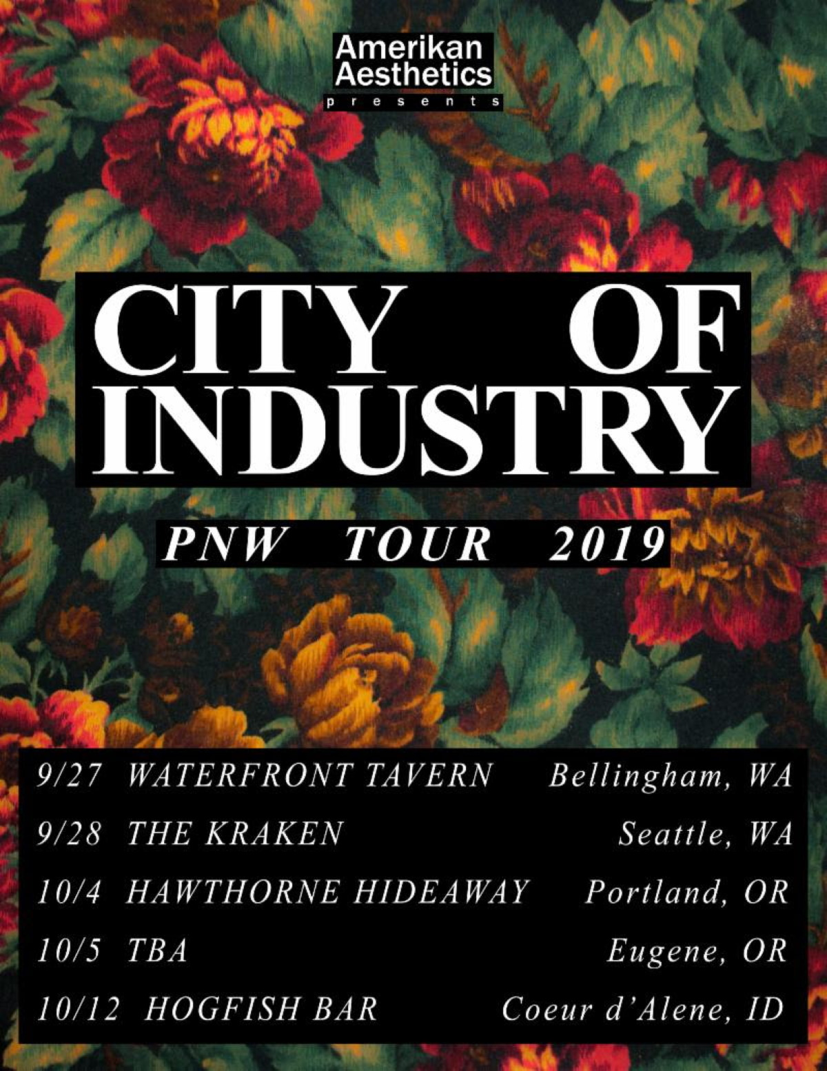 CITY OF INDUSTRY tour
