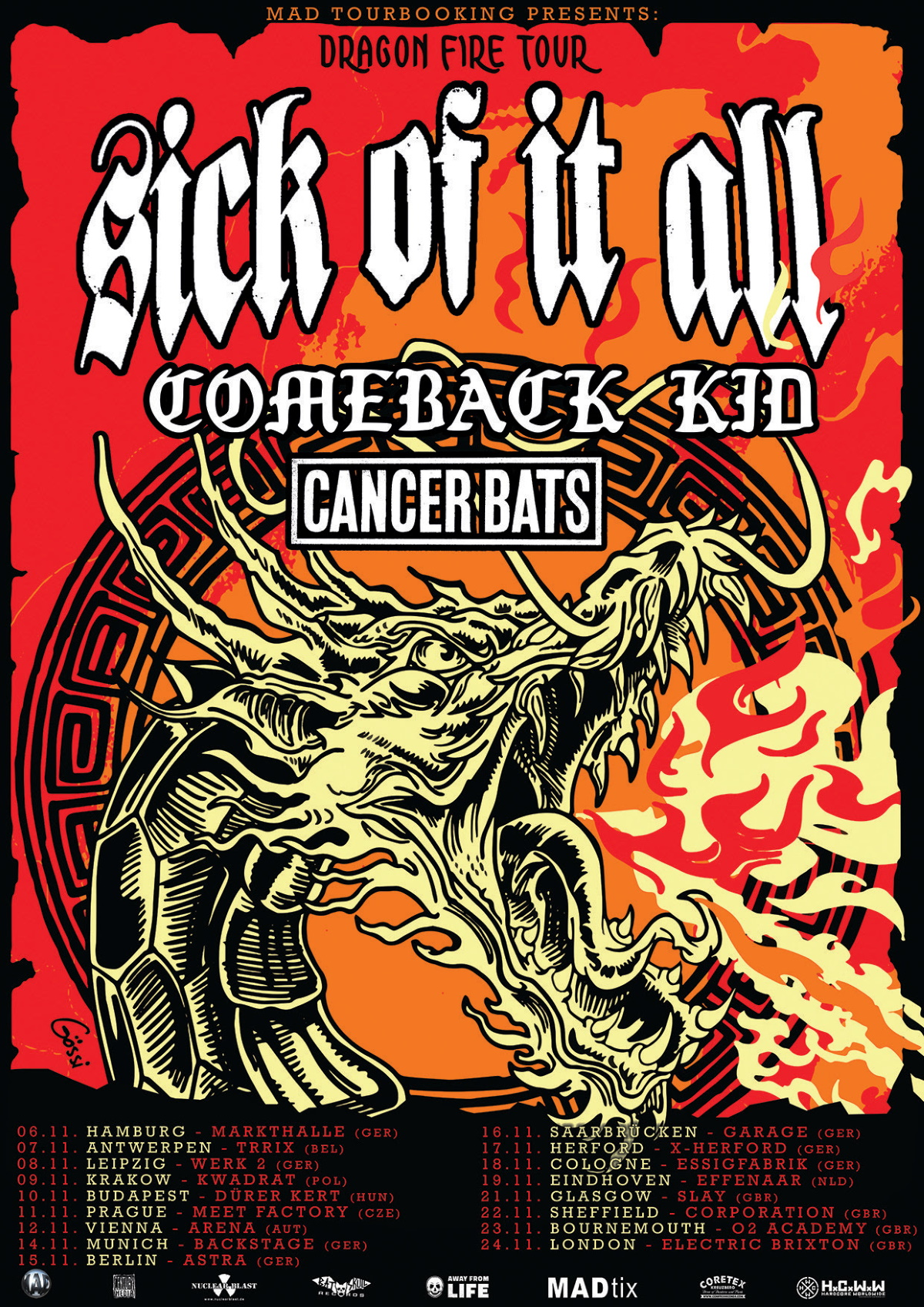 COMEBACK KID poster updated