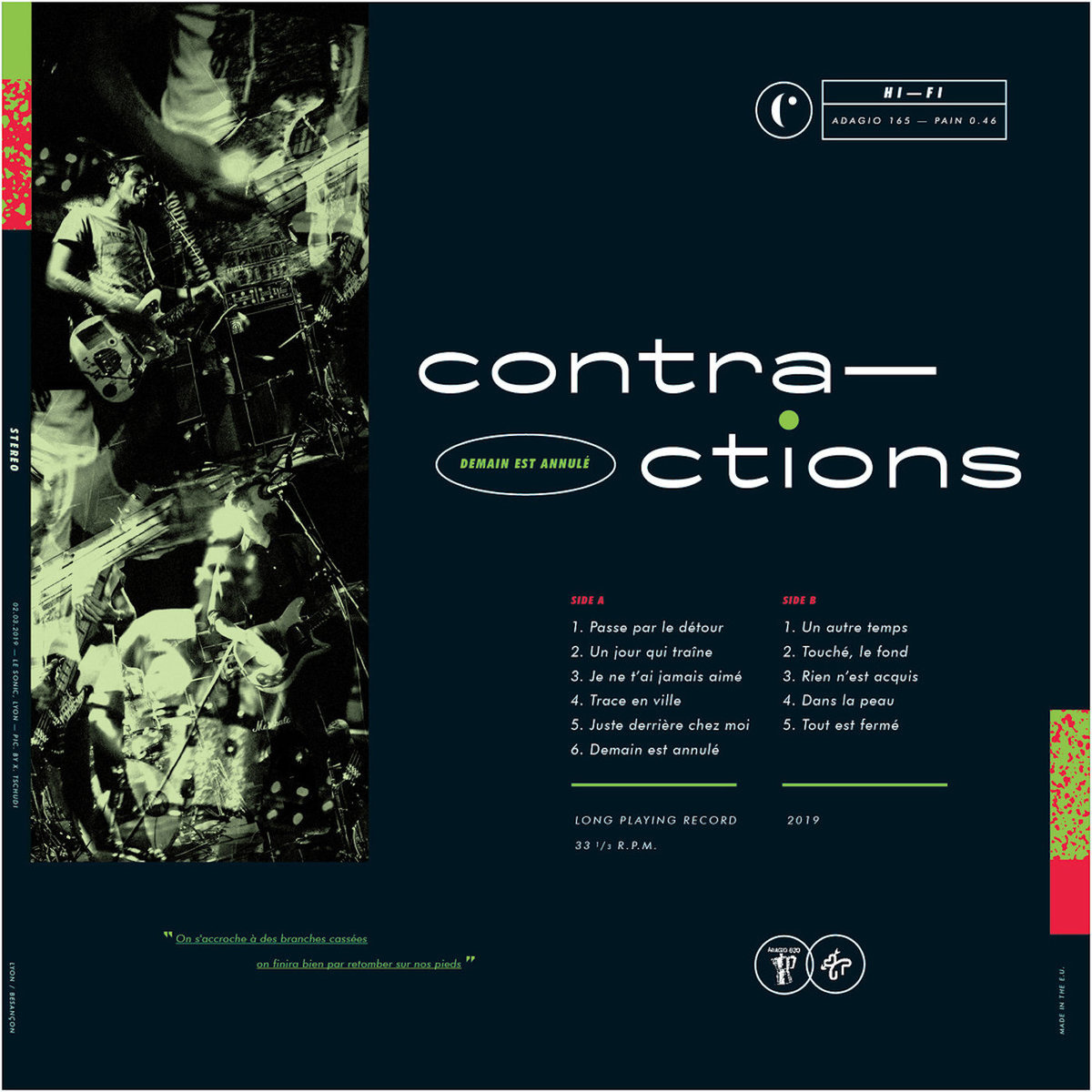 CONTRACTIONS cover