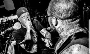 DEATH BEFORE DISHONOR live photo