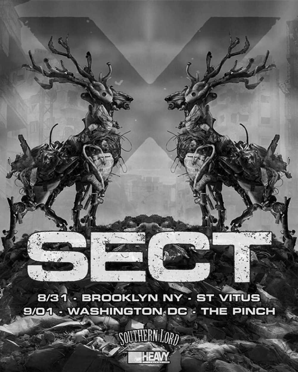SECT live dates 2019