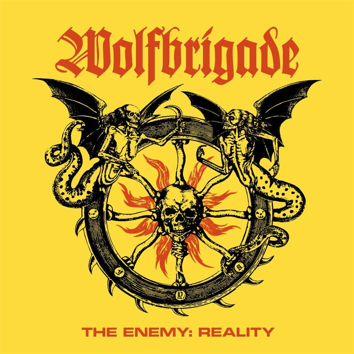 WOLFBRIGADE cover - the reality enemy