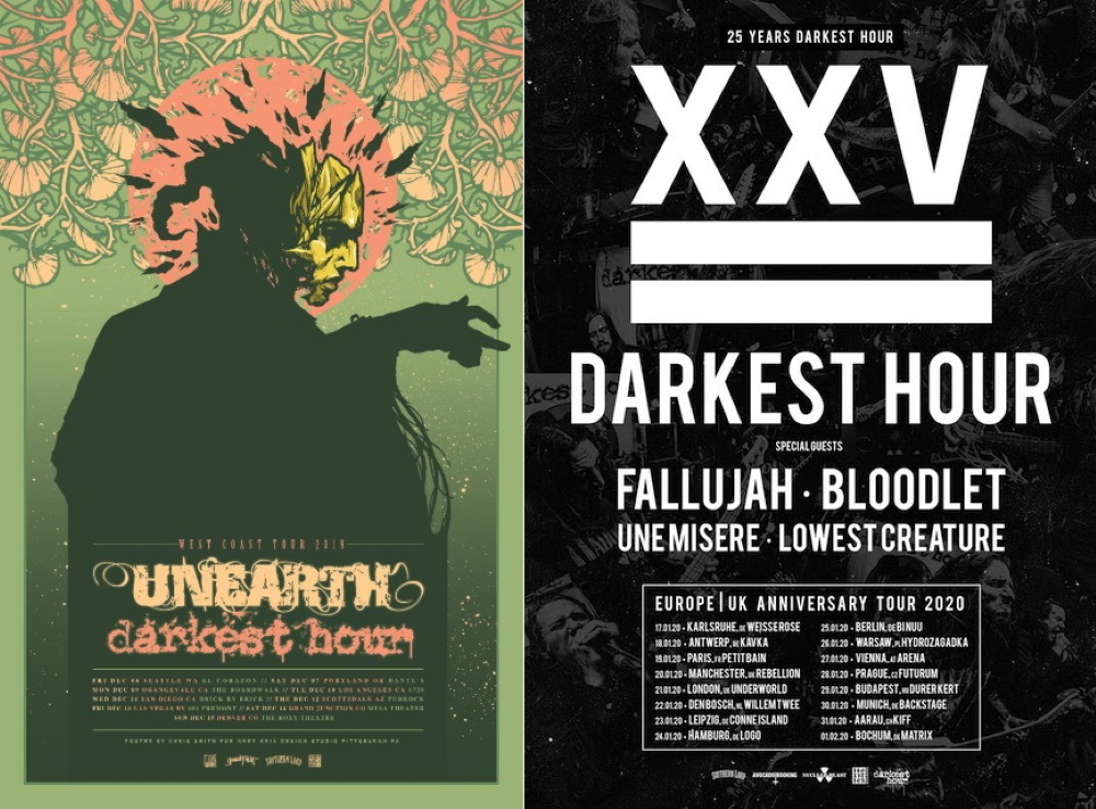DARKEST HOUR tour