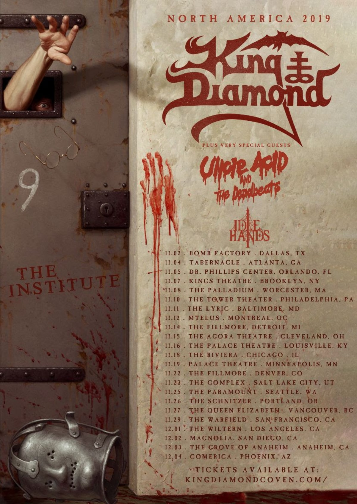 IDLE HANDS touring!
