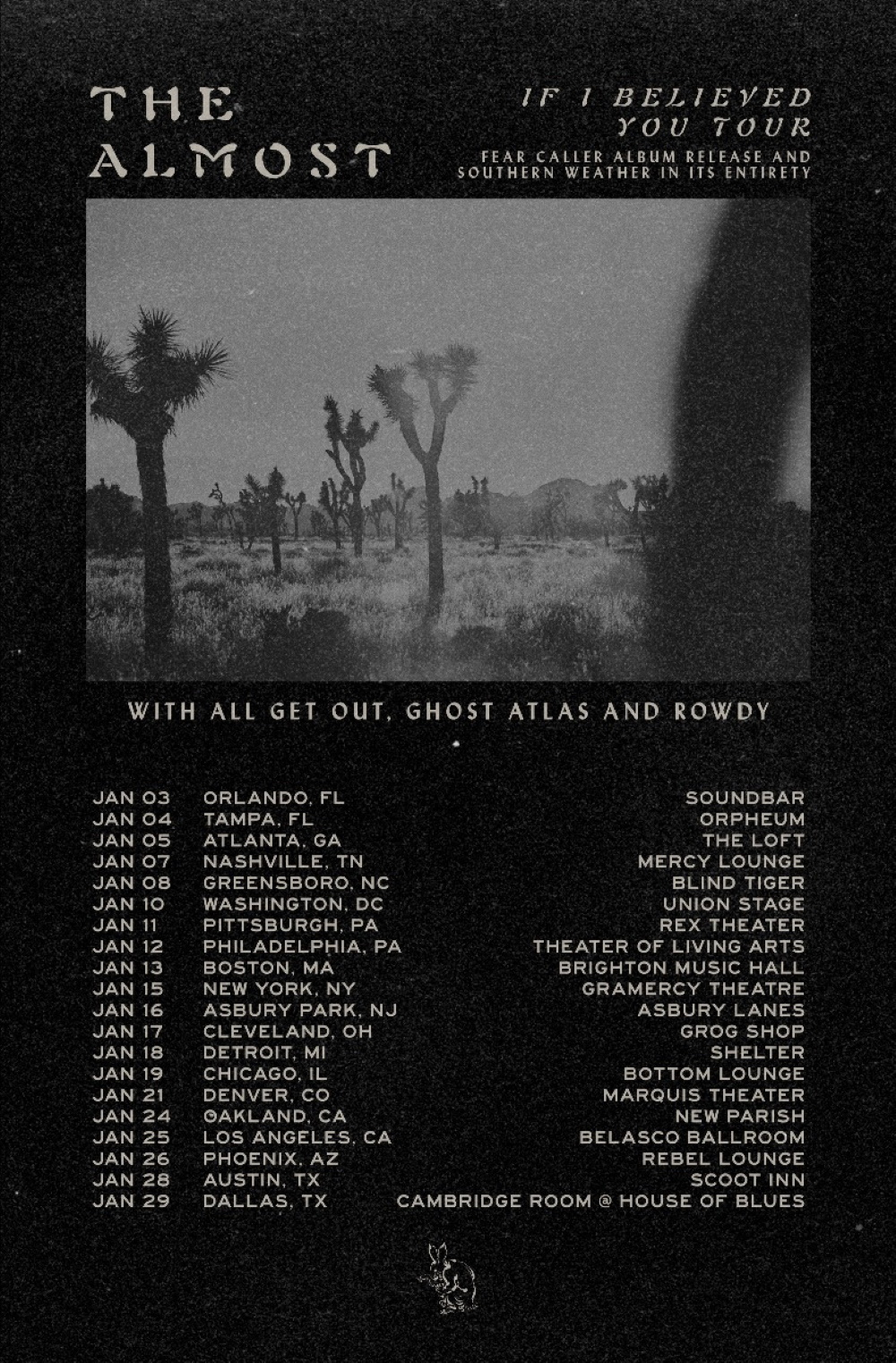 THE ALMOST tour