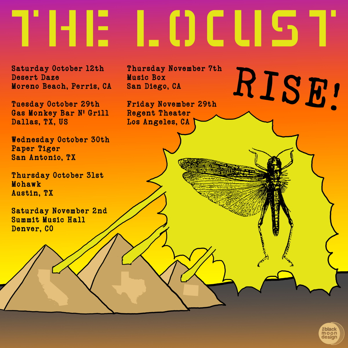 THE LOCUST live shows!