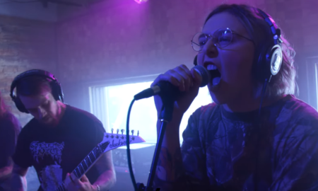 VENOM PRISON live at Audiotree Live in Chicago, 2019