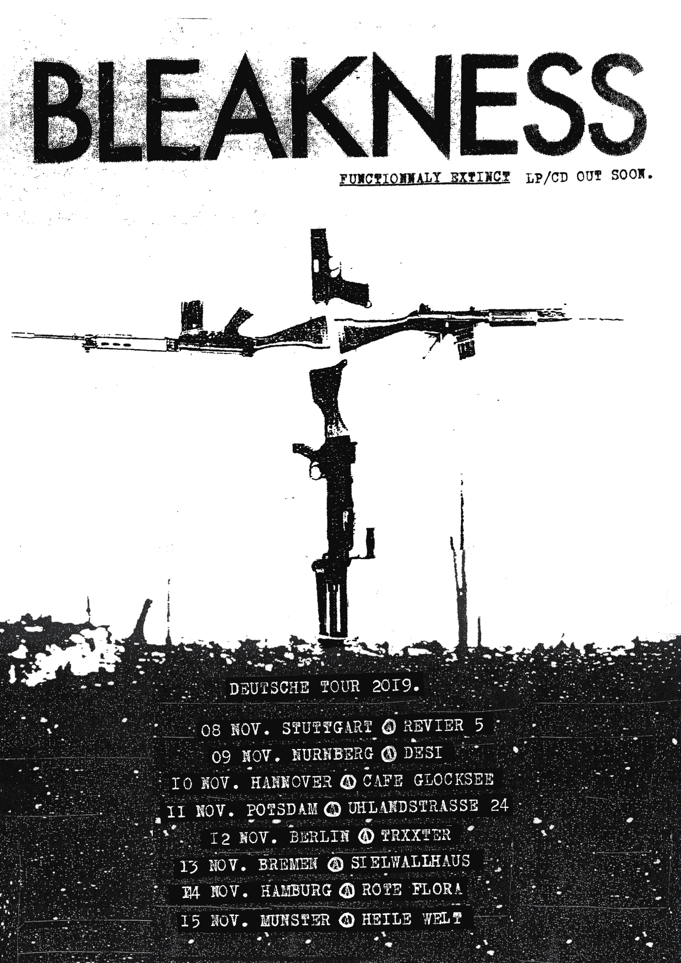 BLEAKNESS tour