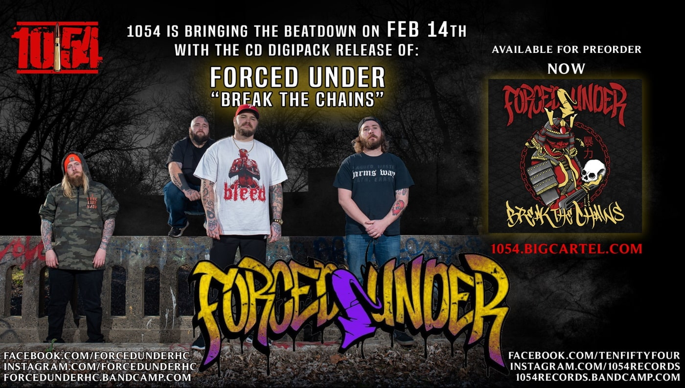 FORCED UNDER promo