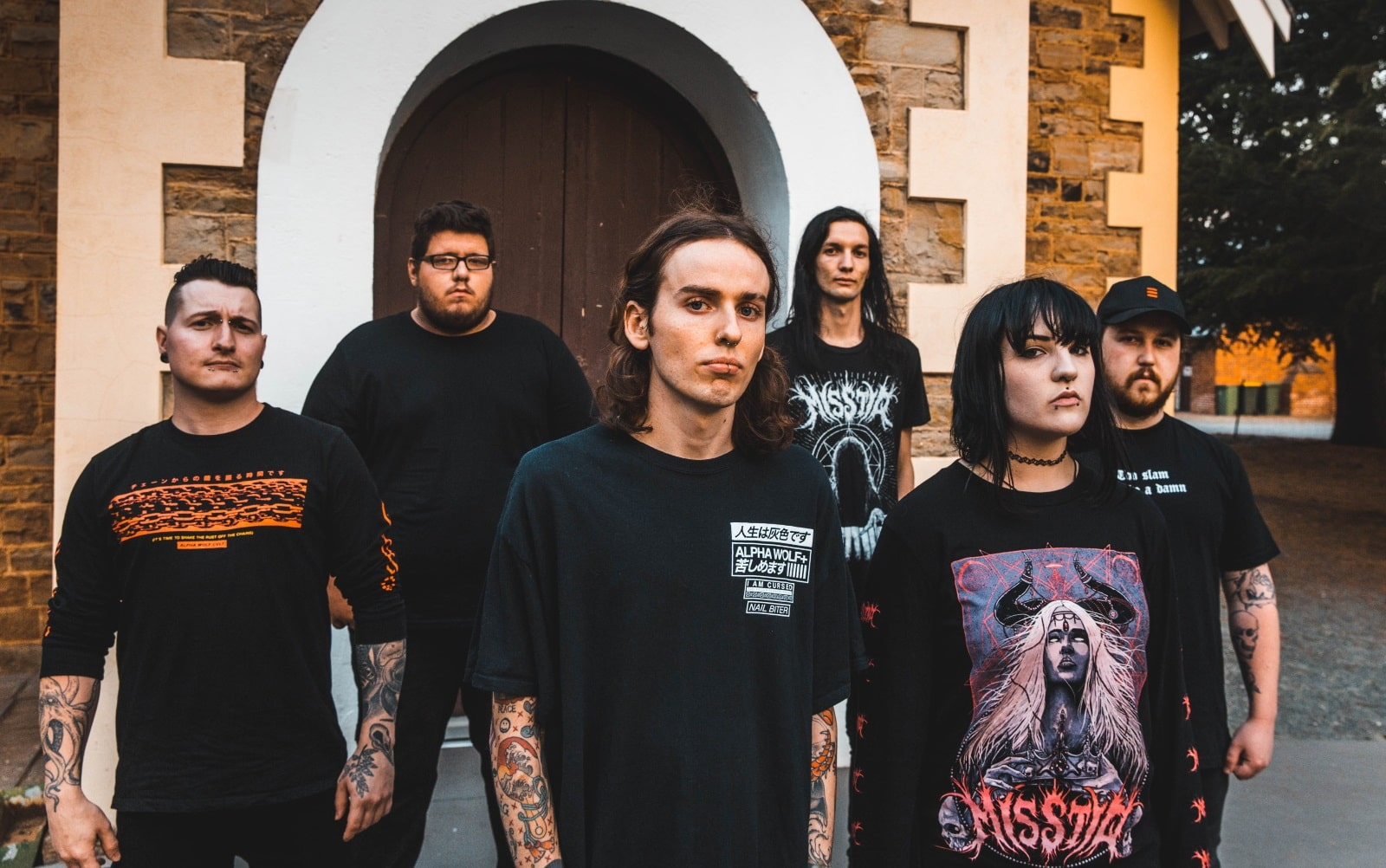 Canberra metalcore act DEATHBEDS premiere new single What's Yours is Mine and What's Mine is Mine