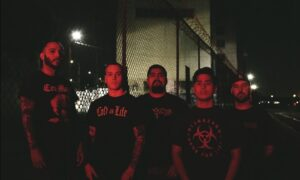 Ferocious metallic hardcore group CONSTRICT