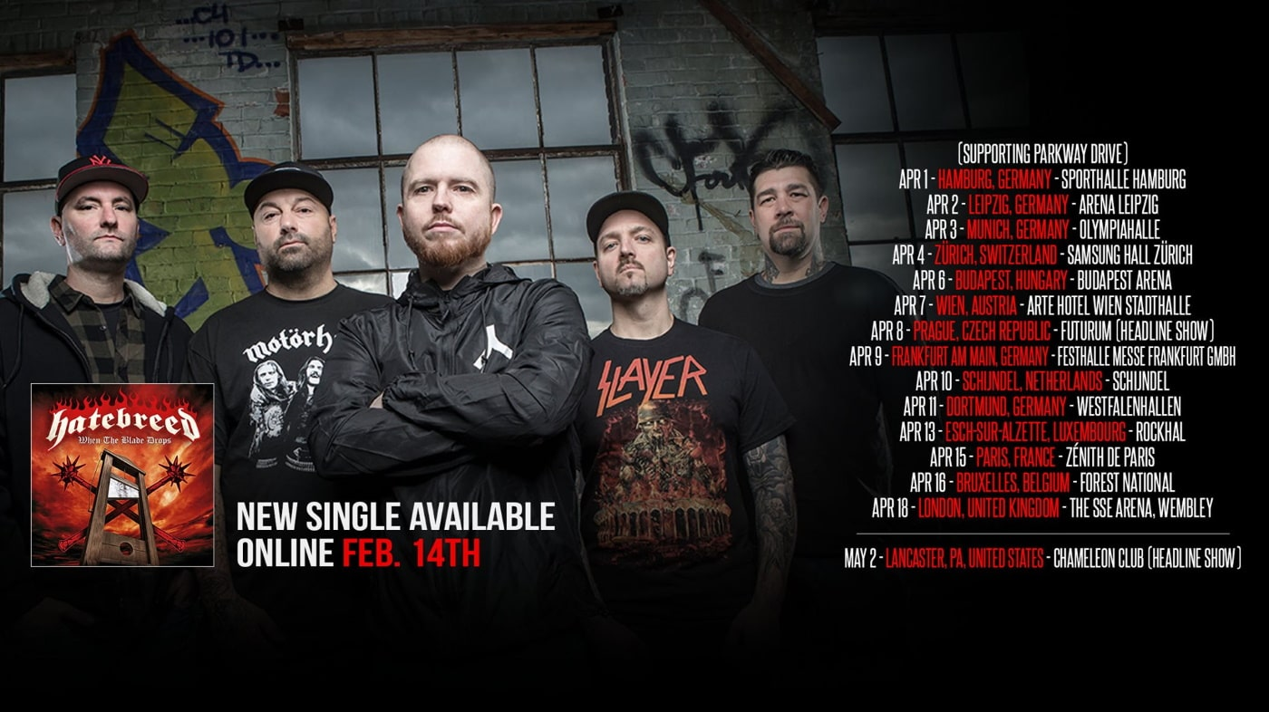 HATEBREED live shows