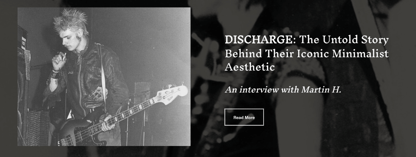 negativeinsight zine - Discharge feature
