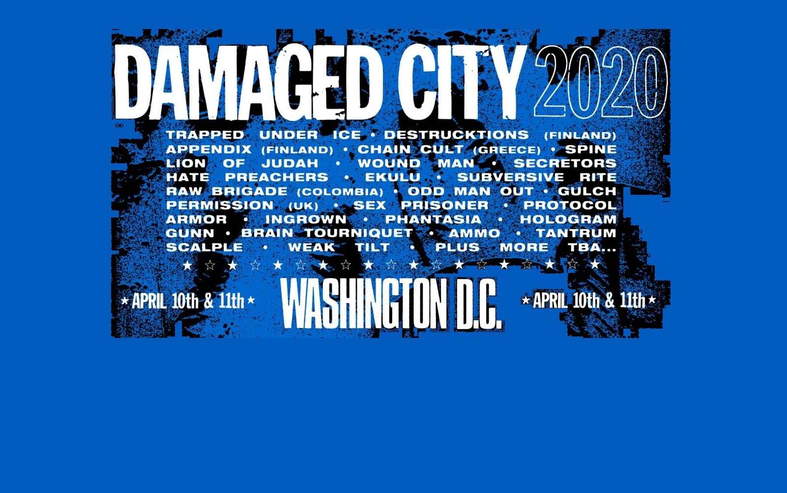 Damaged CIty Fest 2020