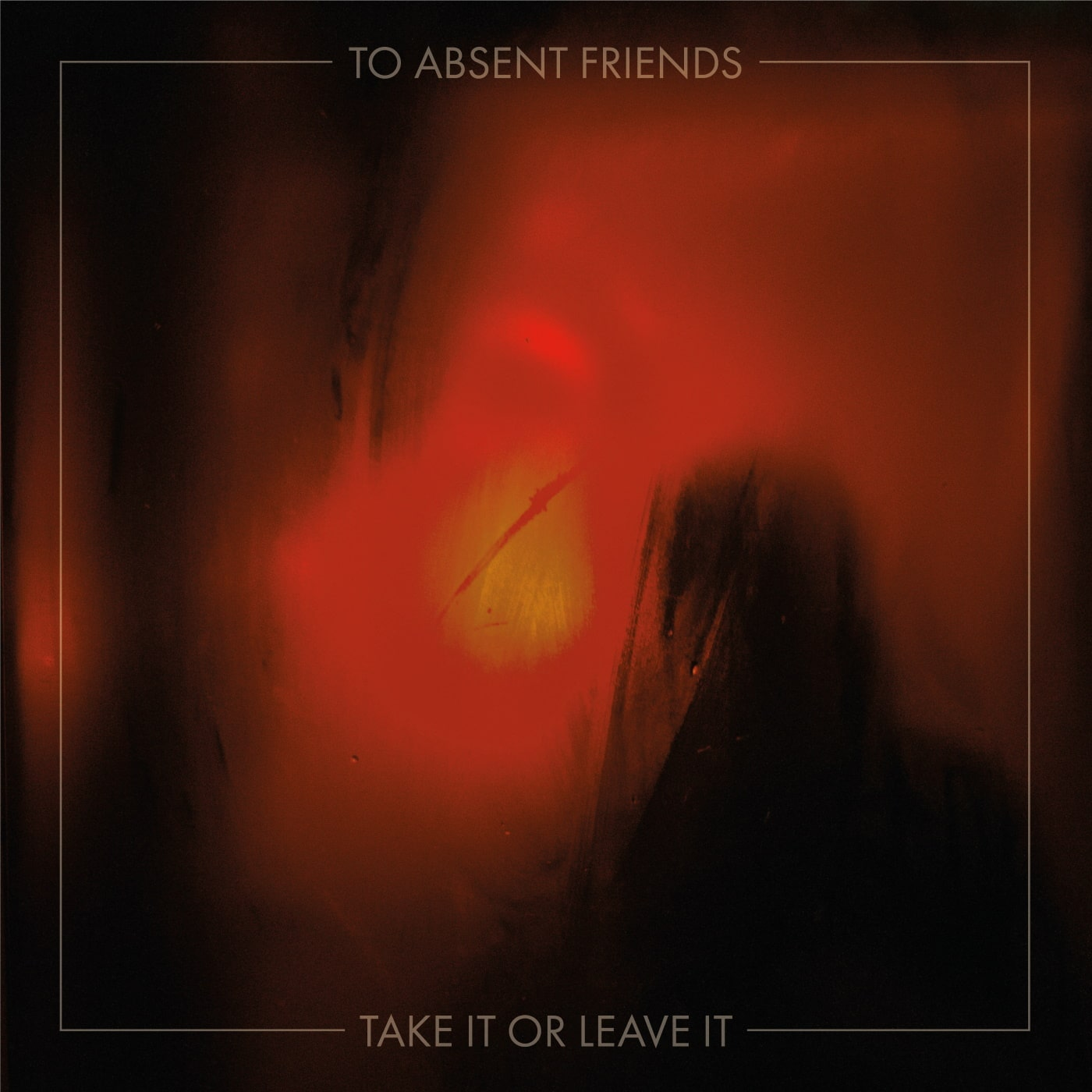 TO ABSENT FRIENDS logo