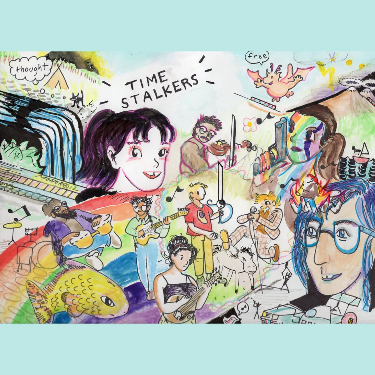 Time Stalkers cover