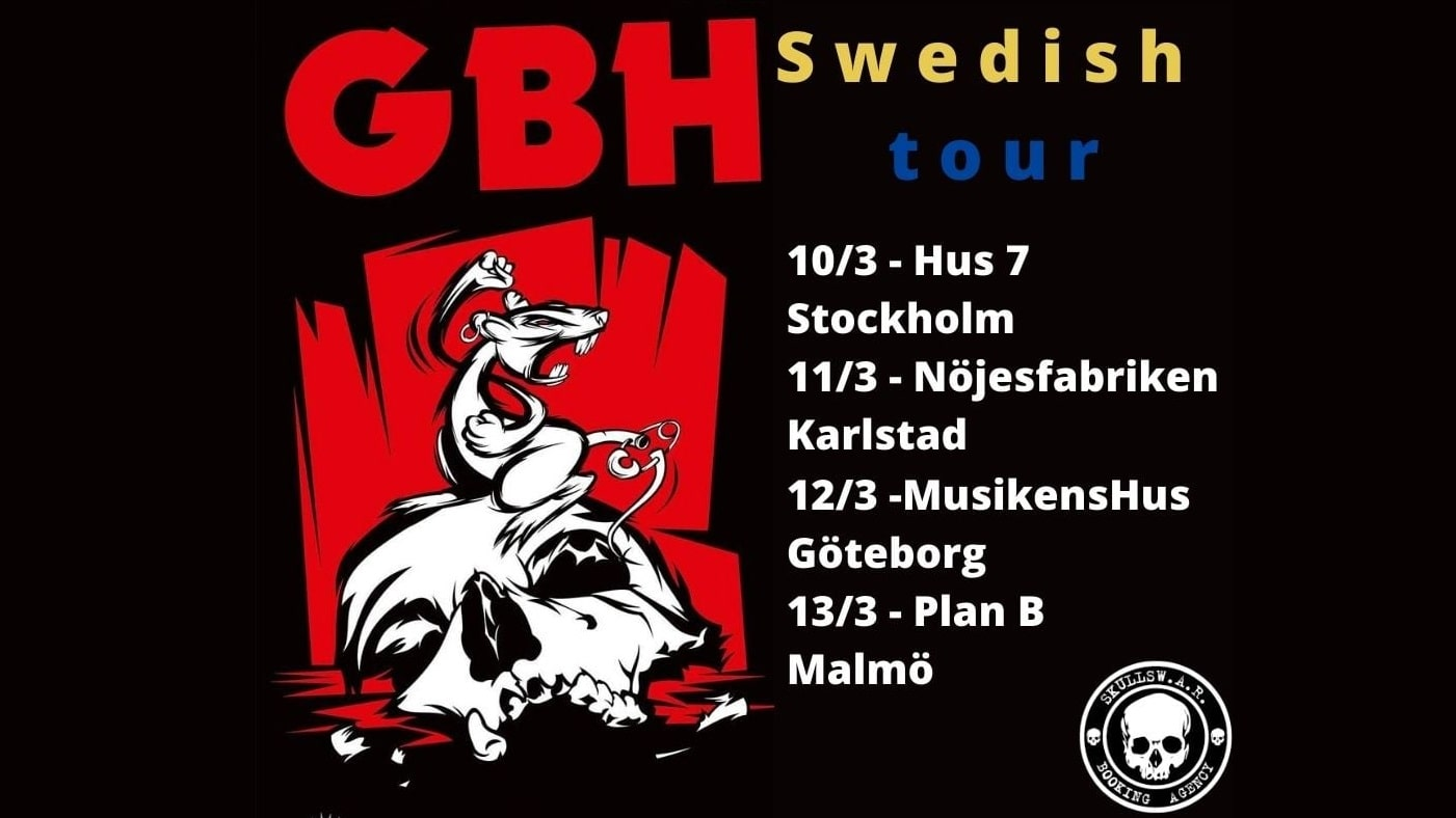 GBH live dates
