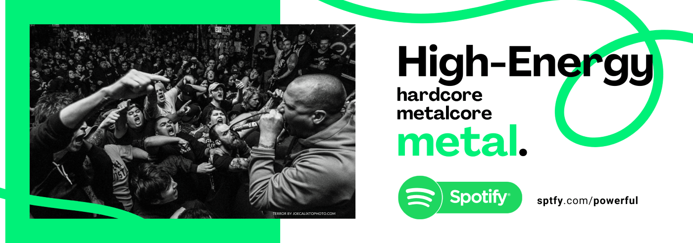 HIGH ENERGY - Metal & Hardcore // IDIOTEQ.com Spotify Playlist