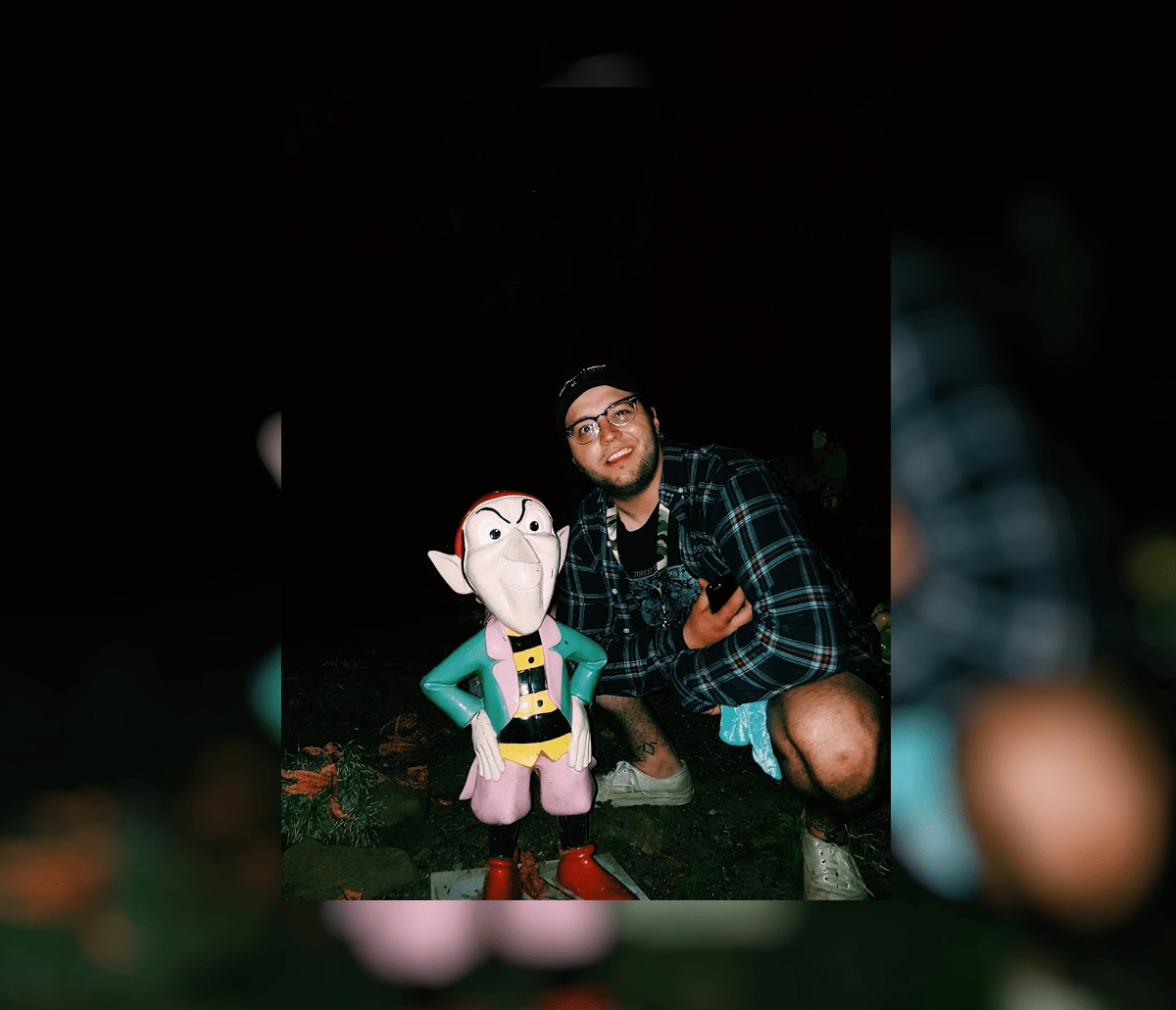 Travis and a gnome // Solingen