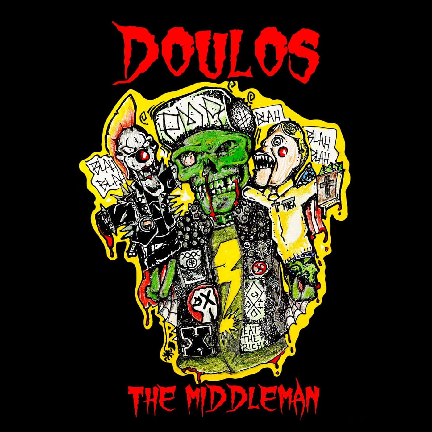 Doulos - The Middleman ALBUM COVER